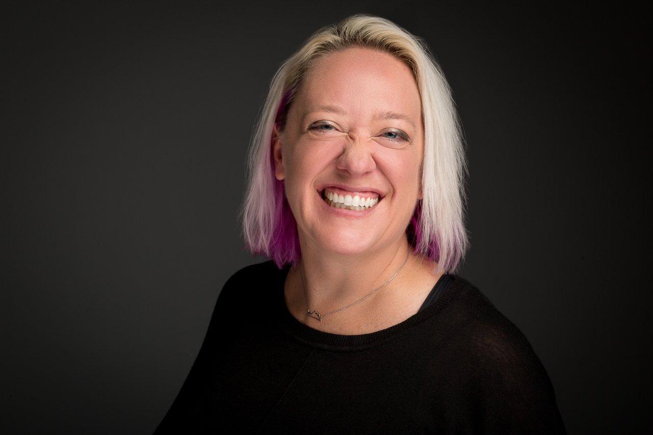 headshot of Kim Bultsma by Lane Hickenbottom from Omaha Headshot Company
